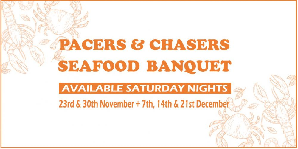 Pacers & Chasers Seafood Banquet
