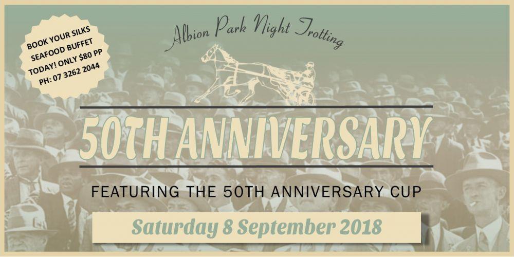 Celebrate a spectacular 50 years of trotting with us!